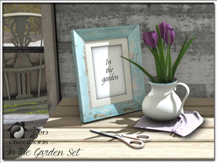 In the Garden Set