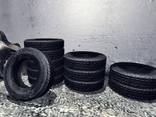 Tire Stack - 1 prim each Mesh