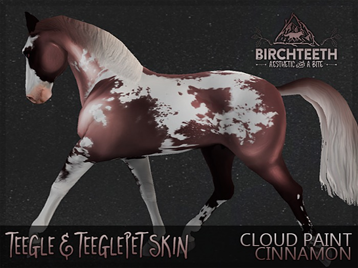 [bt] teeglepet  - cloud paint; cinnamon