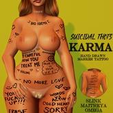 [Suicidal Thots] Karma Marker Tattoo (rez & open)