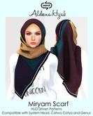 ALDEENA HIJAB: Miryam Scarf Fatpack