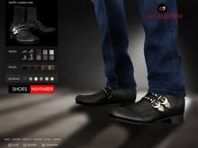 A&D Clothing - Shoes -Wayfarer- Ebony
