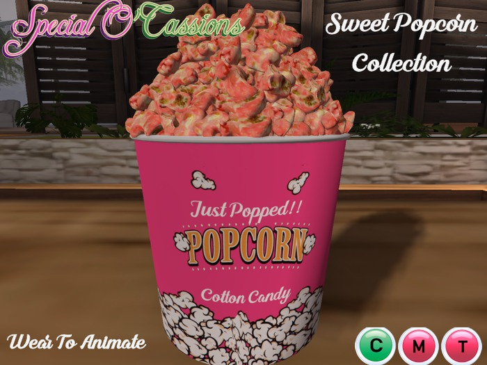 ~Special O'Cassions~ Delivery Box -  Cotton Candy Popcorn