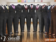CA PROMO SIGNATURE BELLEZA JAKE SLINK ADAM VANELLI FORMAL SUITS