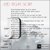MD Tipjar Script