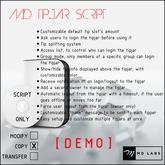 MD Tipjar Script DEMO