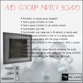 MD Group Inviter Board