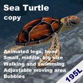 Swimming and Walking turtle(copyable)