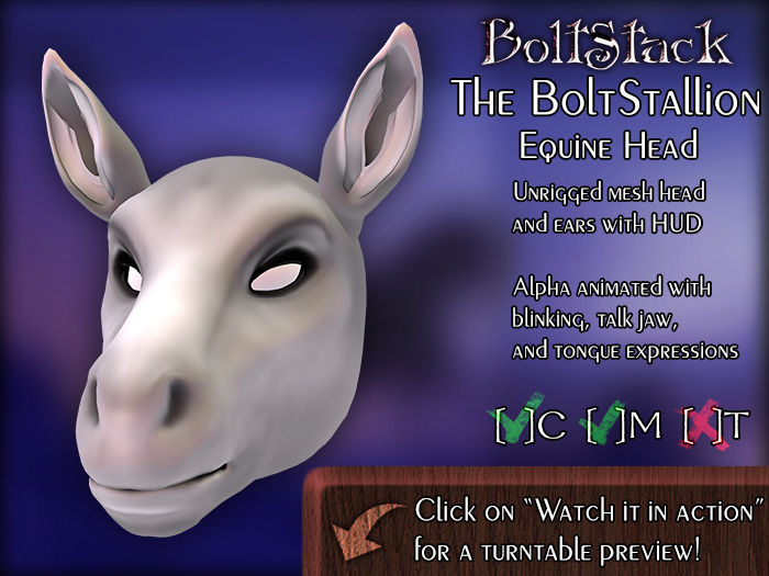 BoltStack - BoltStallion Head