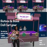 Buttons & Bows Doll cart doll giver-crate