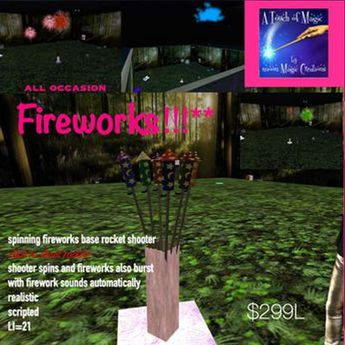 All ocassion Fireworks display-crate
