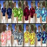 *VLC* for men - 8 Hawaiian shirts
