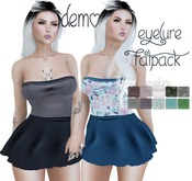 DEMO Eyelure Strapless Casual Dress - with Fatpack HUD