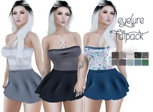 Eyelure Strapless Casual Dress  - with Fatpack HUD