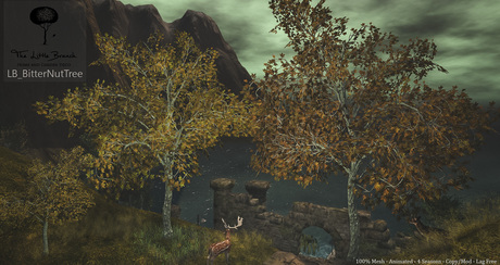 LB BitterNut Tree Animated 4 Seasons