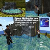 Mesh Waterfall with spear fishing for 2-crate