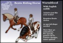 ~*WH*~ Riding Horse (English Warmblood) 1.0 (Rez or wear)
