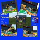 Dinkie Caravan Bed for 2 Box
