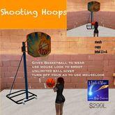Shooting Hoops Basketball set-crate