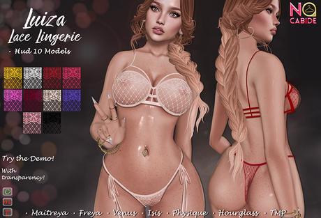 No Cabide :: Luiza Lace Lingerie  - HUD 10 Models