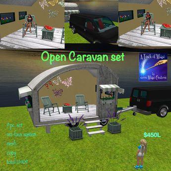 Open Caravan Set=Crate