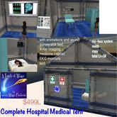 Complete Hospital Tent Crate