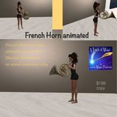 French Horn animated-Crate