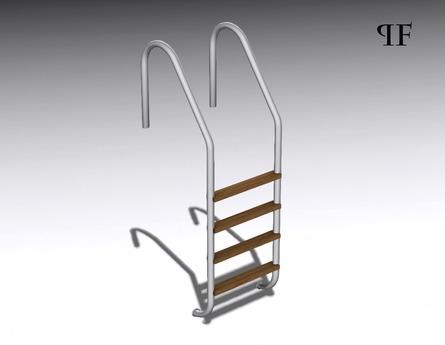 Swimming pool ladder 001
