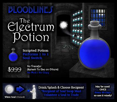 The Electrum Potion