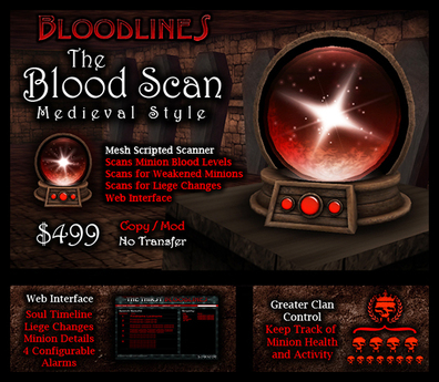 The Blood Scan - Medieval