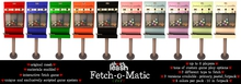 .:Short Leash:. Fetch-o-Matic *Prize Refill* - 32 Pack