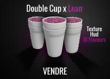 VENDRE - Double Cup x Lean (WEAR ME)