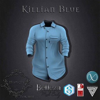 **Mistique** Killian Blue (wear me and click to unpack)