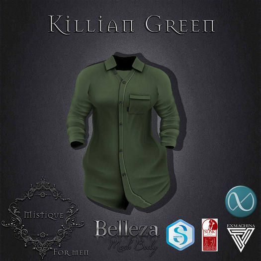 **Mistique** Killian Green (wear me and click to unpack)