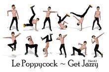 Le Poppycock *Get Jazzy* Set A
