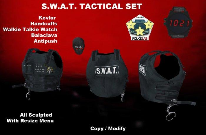 SWAT Tactical  set