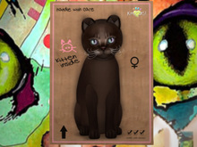 ♀ MEGAPUSS!! Abyssinian - Dark Chocolate - LKN - KittyCats New Born Kitten
