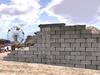 Block Wall  Mesh 1 prim each - HD texture