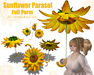 [ FULL PERM ] Summer Parasol Sunflower
