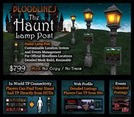 The Haunt Lamp Post