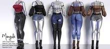Mangula HUD [Unpack] Janin Set Blouse Short Pants [FATPACK]