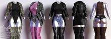 Mangula HUD [Unpack] Pia Set Blouse Body Short Jacket [FATPACK]