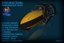 Steelhead Scuba Sled SV1