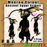 Meeroo Cutout Ancient Egypt Scribes