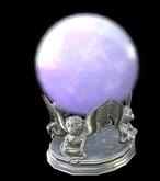 11. *HEXtraordinary* Flying Monkey Crystal Ball - Silver