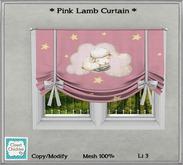 *CC* Lamb Curtain Pink (WEAR+click)