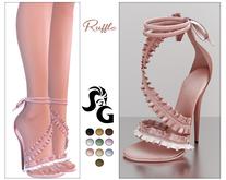 ::SG:: Ruffle* Shoes BELLEZA