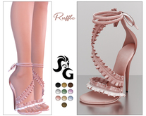 ::SG:: Ruffle* Shoes SLINK