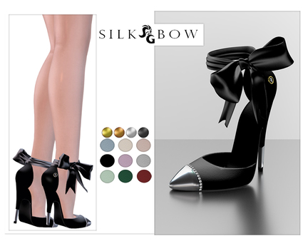 ::SG:: Silk Bow Shoes Belleza