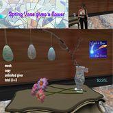 Spring Easter Vase gives flower-Bag